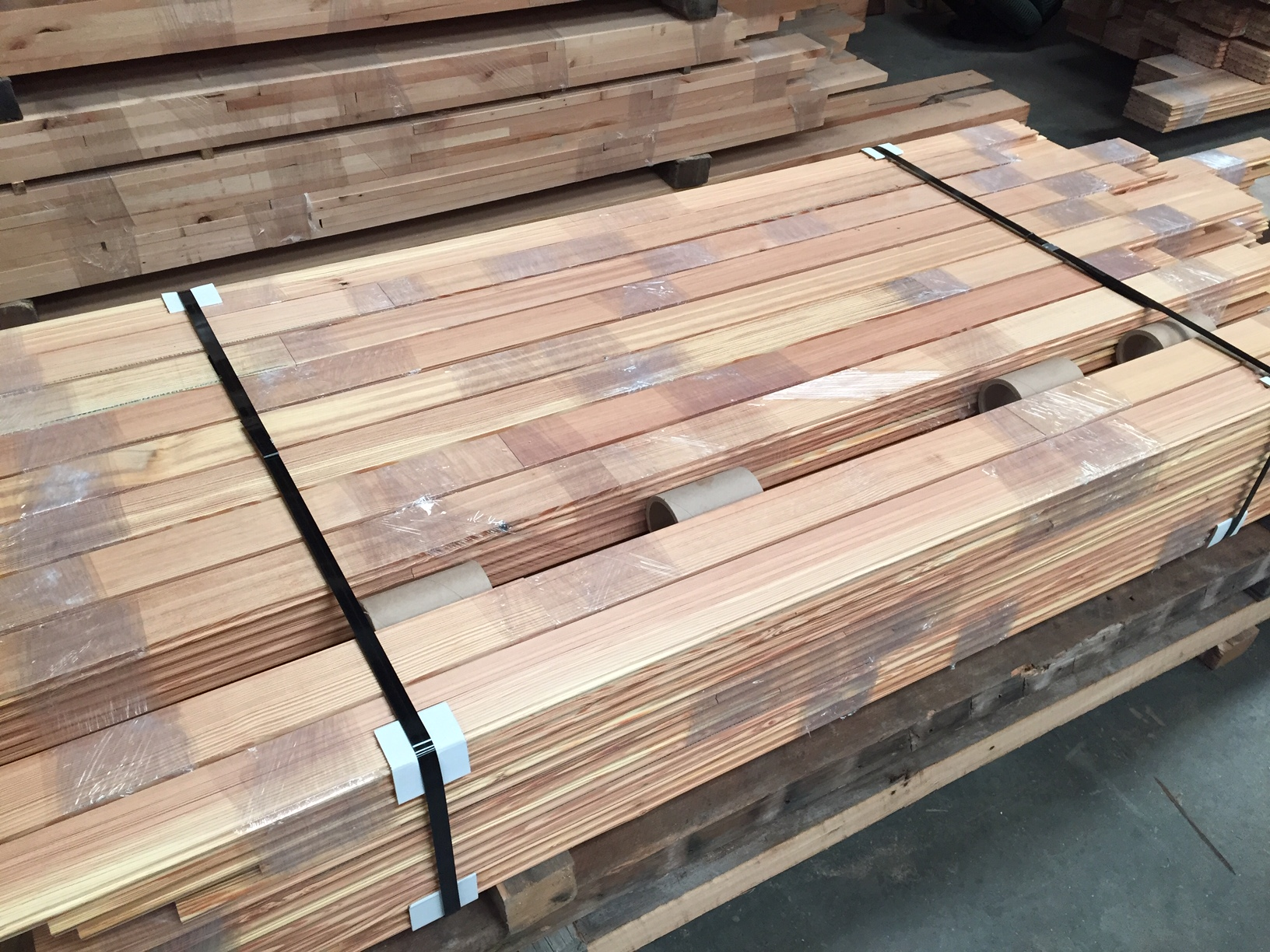 Antique Heart Pine Vertical Grain Flooring